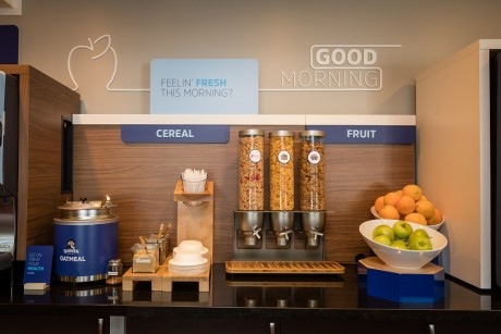 Welcome To Holiday Inn Express Mountain View Palo Alto - Breakfast Cereals