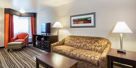 Welcome To Holiday Inn Express Mountain View Palo Alto - Executive Suite Living Room
