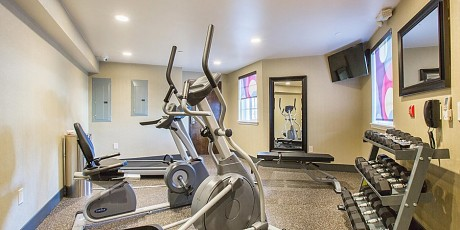 Welcome To Holiday Inn Express Mountain View Palo Alto - Fitness Room